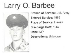 Larry Oliver Barbee