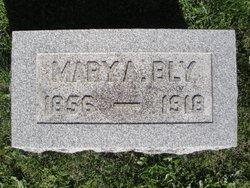 Mary Ann <i>Hufford</i> Bly