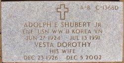 Vesta Dorothy <i>Thompson</i> Shubert