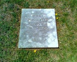 Dora Lee <i>Adkins</i> Poindexter