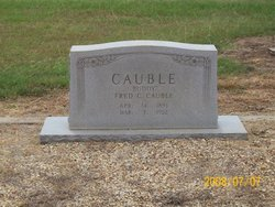 Fred C Buddy Cauble