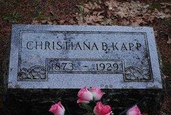 Christiana <i>Bauerle</i> Kapp