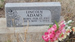 Lincoln Adams