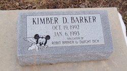 Kimber D Barker