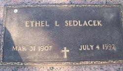Ethel L Sedlacek
