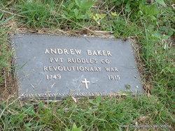 Rev Andrew Baker