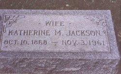 Katherine M <i>Fischbach</i> Jackson