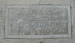 Dilla Marie <i>Williams</i> Bailey