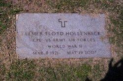 Elmer F Hollenback