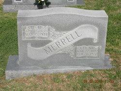 Estelle <i>Searcy</i> Merrell