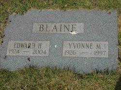 Yvonne Miller Blaine