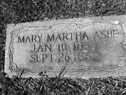 Mary Martha Ashe