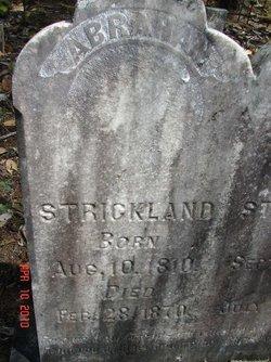 Abraham Strickland