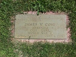 James W Gose