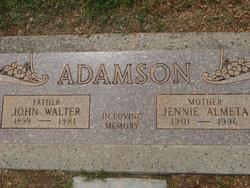 John Walter Adamson