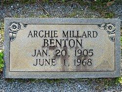 Archie Millard Benton
