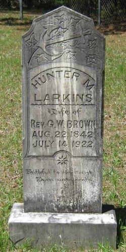 Hunter M. <i>Larkins</i> Brown