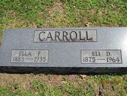 Ella Francis <i>Hollister</i> Carroll