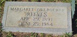 Margaret <i>Overocker</i> Reeves