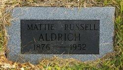 Mattie Russell Aldrich