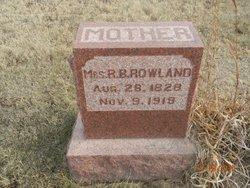 Mrs. Christina Elnora <i>Johnson</i> Rowland