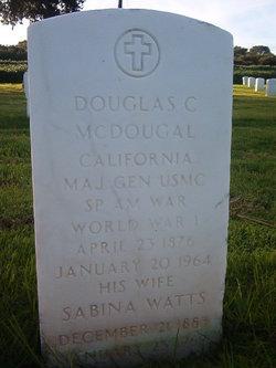 Gen Douglas Cassel McDougal
