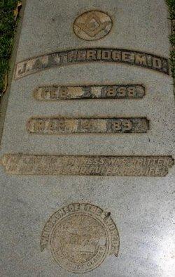 Dr James Allen Etheridge, Jr