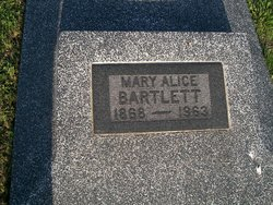Mary A. <i>Wood</i> Bartlett