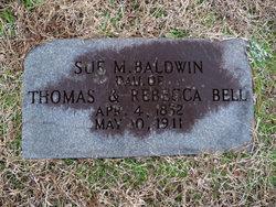 Sue M <i>Bell</i> Baldwin