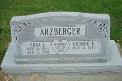 Edna <i>Bergman</i> Arzberger