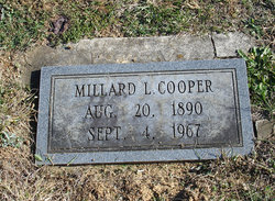 Millard Leonard Cooper