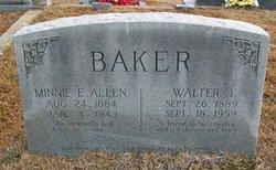 Minnie Elizabeth <i>Allen</i> Baker