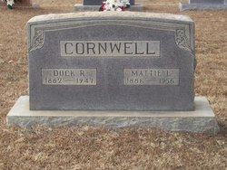 Mattie <i>Lee</i> Cornwell