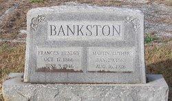Frances Cornelila <i>Hendry</i> Bankston