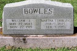 Martha <i>Stribling</i> Bowles
