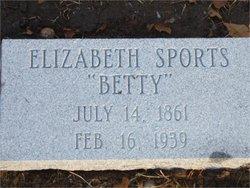 Elizabeth Taylor Betty Sports