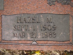 Hazel M Warren