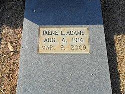 Irene <i>Leverett</i> Adams