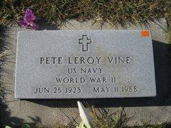 Pete Leroy Vine