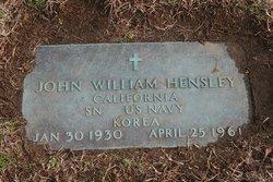 John William Hensley