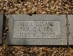 Alice DeVane Meadows