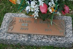 Susie Helon Sissy <i>Norman</i> Duncan