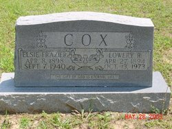 Elsie <i>Frazier</i> Cox