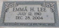 Emma Lucille <i>Huber</i> Lee
