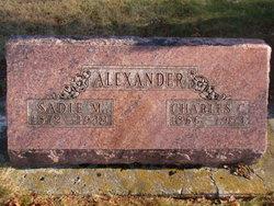 Sarah Mary Sadie <i>Trout</i> Alexander