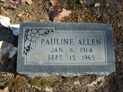 Pauline Bell <i>Bagley</i> Allen