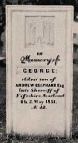George The Lost Sheep Clephane