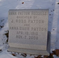 Dr Anna <i>Patton</i> Russell