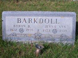 Jennie Ann <i>Childs</i> Barkdoll