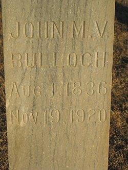 John M. V. Bulloch